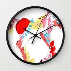 Baby horse colour Wall Clock