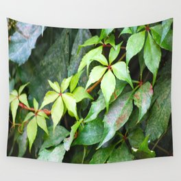 Green Vines Wall Tapestry