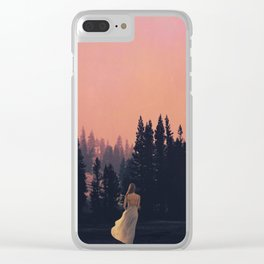 Call of the Forest Clear iPhone Case