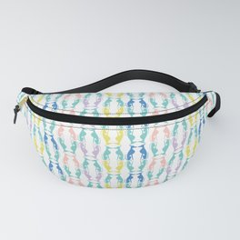 Pastel Greyhounds Fanny Pack