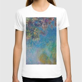 Wisteria by Claude Monet T-shirt