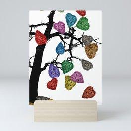 The Fall of Hearts Mini Art Print