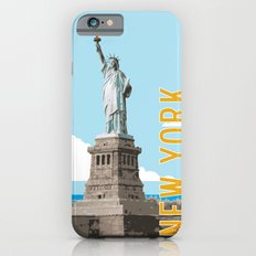 New York Travel Poster Slim Case iPhone 6s