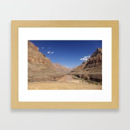 In the Canyon Framed Art Print