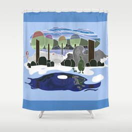 Forest Dream Shower Curtain