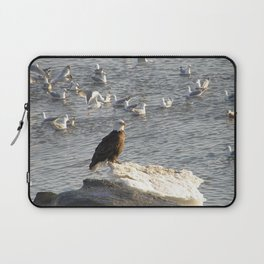 Eagle on Ice Laptop Sleeve