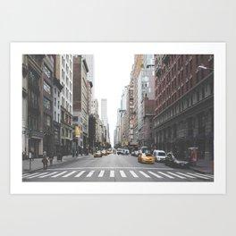 Urban Adventure NYC Art Print