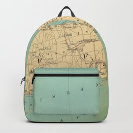 Vintage Map of Suffolk County NY (1895) Backpack