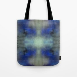 Violet Yellow Invert Mirrored Tote Bag