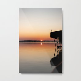 warm sunrise Metal Print