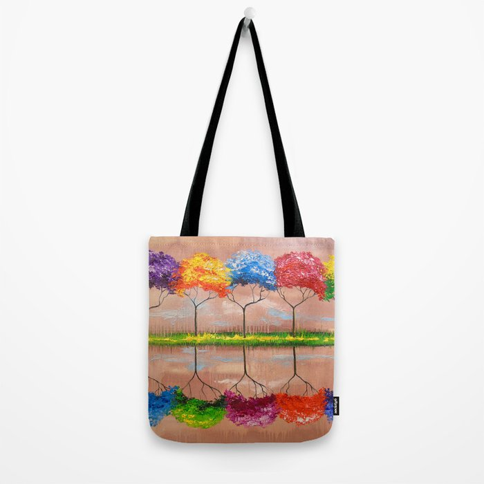 Every tree by its smell Tote Bag