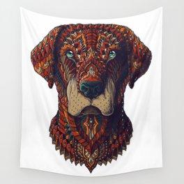 Labrador (Color Version) Wall Tapestry