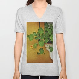 Window Box Unisex V-Neck