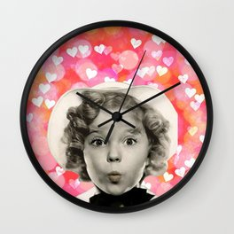 Forever Shirley Wall Clock