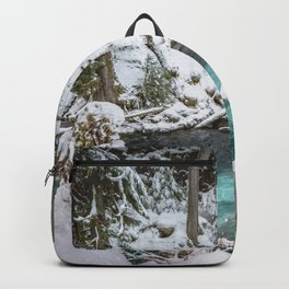 Adventure Awaits River - Pacific Northwest Nature Photography Backpack