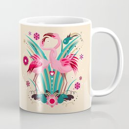 Flamingo in LOVE Coffee Mug