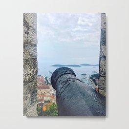 View From Tvrđava Španjola Metal Print