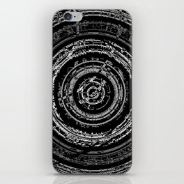 Pixelated High Frequency iPhone Skin