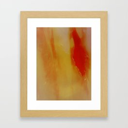 untitled #0176 (red two) Framed Art Print