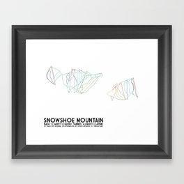 Snowshoe Mountain, WV Framed Art Print