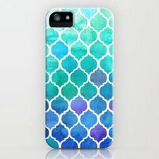 Emerald & Blue Marrakech Meander Slim Case iPhone (5, 5s)