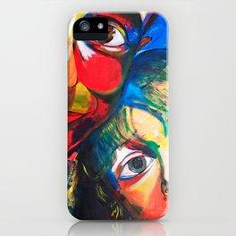 PADRE E HIJO iPhone Case