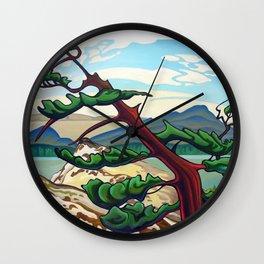 Lone Juniper Wall Clock