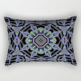 Alien Symmetry Rectangular Pillow
