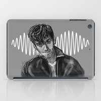alex turner iPad Cases featuring Alex Turner by Luna Perri