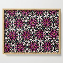 Elly pattern Serving Tray