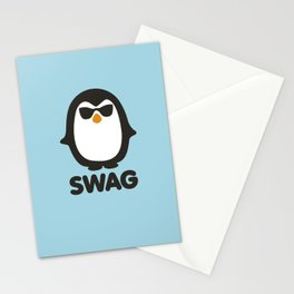 SWAG Pinguin Stationery Cards