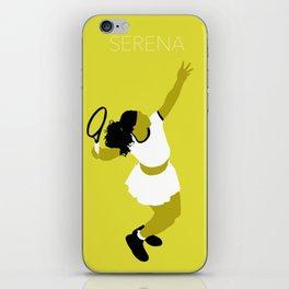 Serena iPhone Skin
