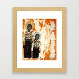 Brother's Keeper Framed Art Print
