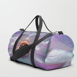 Purple Blossom Cactusina Duffle Bag