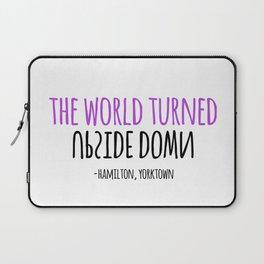 UPSIDE DOWN | HAMILTON Laptop Sleeve
