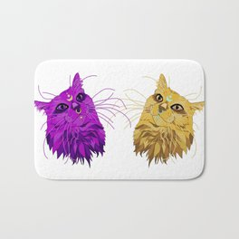 Realistic, Alternative Artimus and Luna (from Sailor Moon) Bath Mat