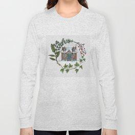 Snowbound Cottage Long Sleeve T-shirt