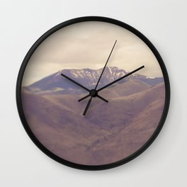 Desert Vista Wall Clock