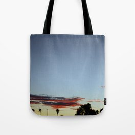 Sunset In The Park Tote Bag