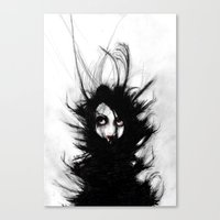 wrestling Canvas Prints featuring Coiling and Wrestling. Dreaming of You by Rouble Rust