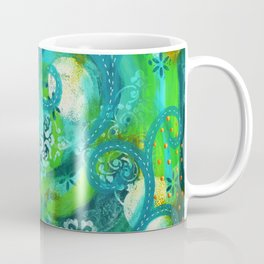 Swirly Roads Coffee Mug