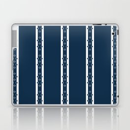 White columns with star details - version six Laptop & iPad Skin