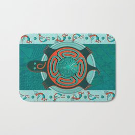 Visitors Anasazi Folk Art Bath Mat