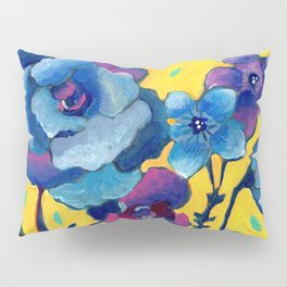 Small Floral Pillow Sham