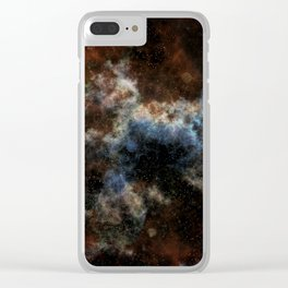 Spaced Out! Clear iPhone Case
