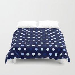 small Polka Dots (Lavender blue) Duvet Cover