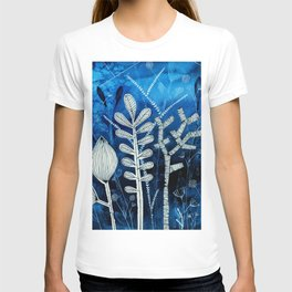 Secret Indigo Garden T-shirt