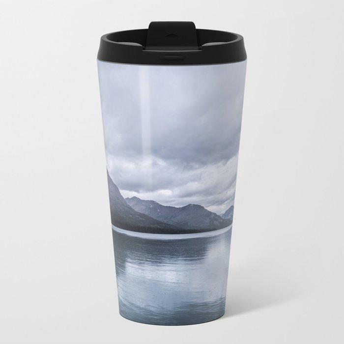 Mountains in Montana Metal Travel Mug