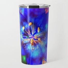 Flashy Flower Travel Mug