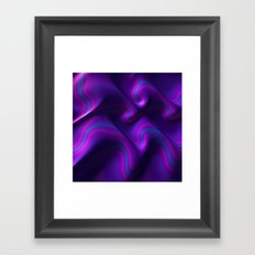 Royal Purple Framed Art Print